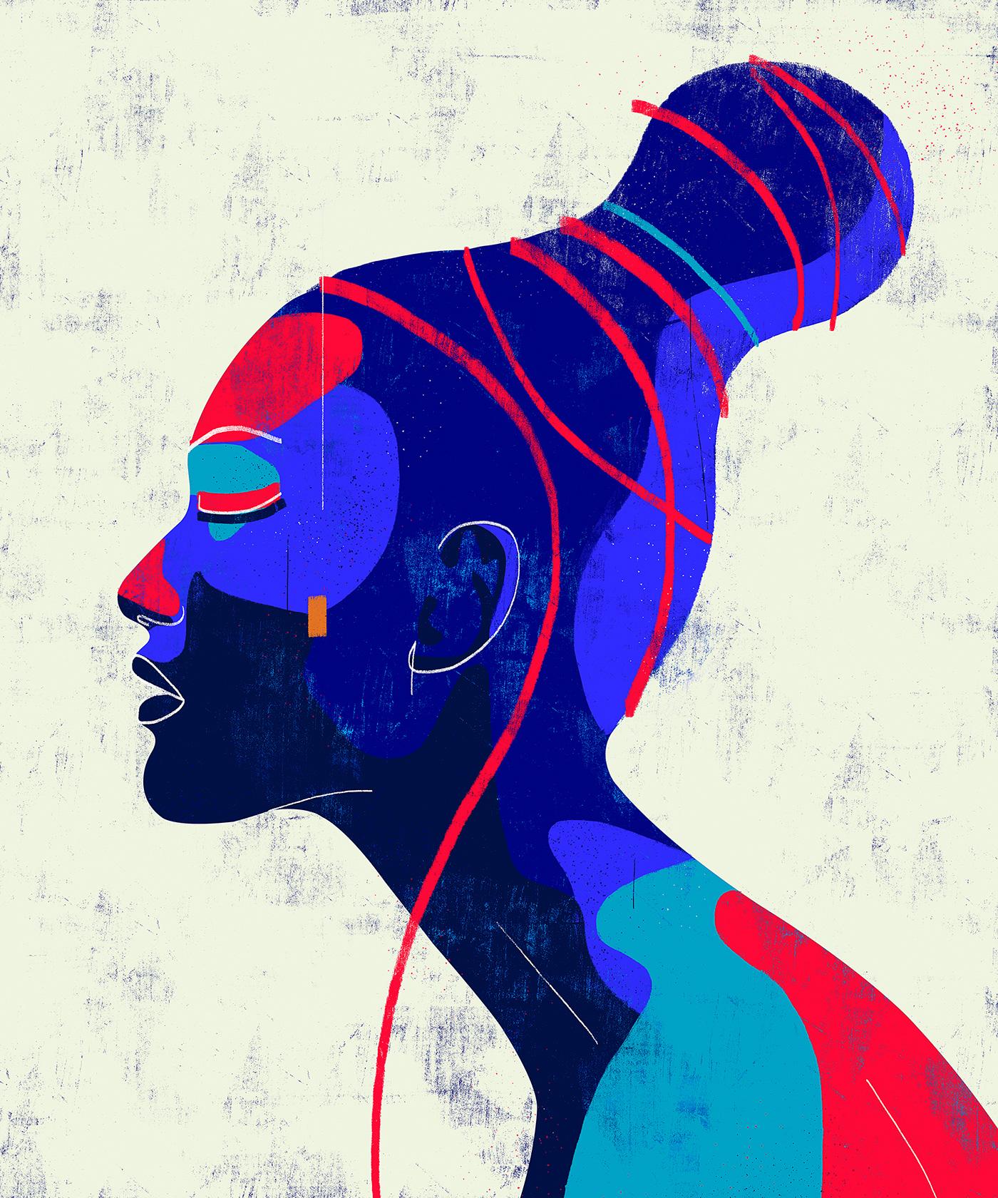 art Brazil colors draw FINEART ILLUSTRATION  visual arts