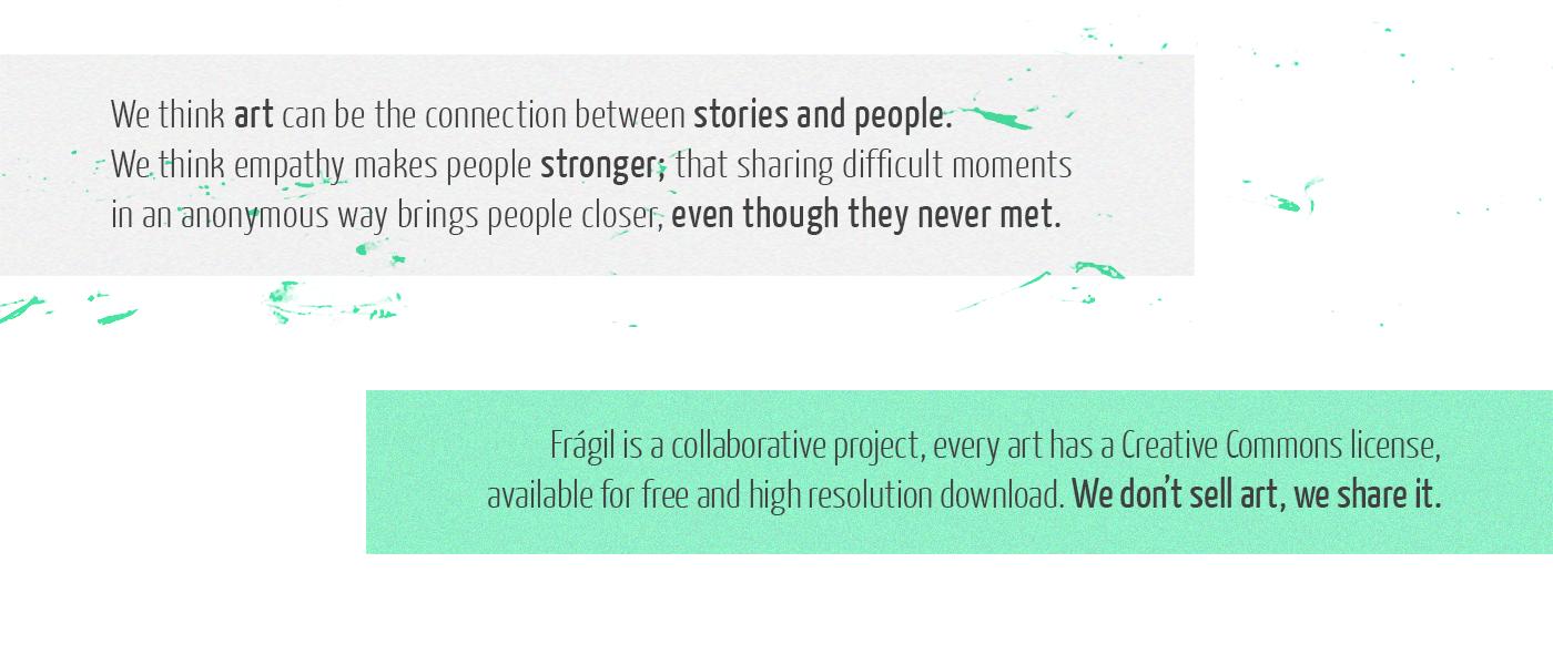 social art streetart Collaborative Fragile Glitch interactive Web social design social impact