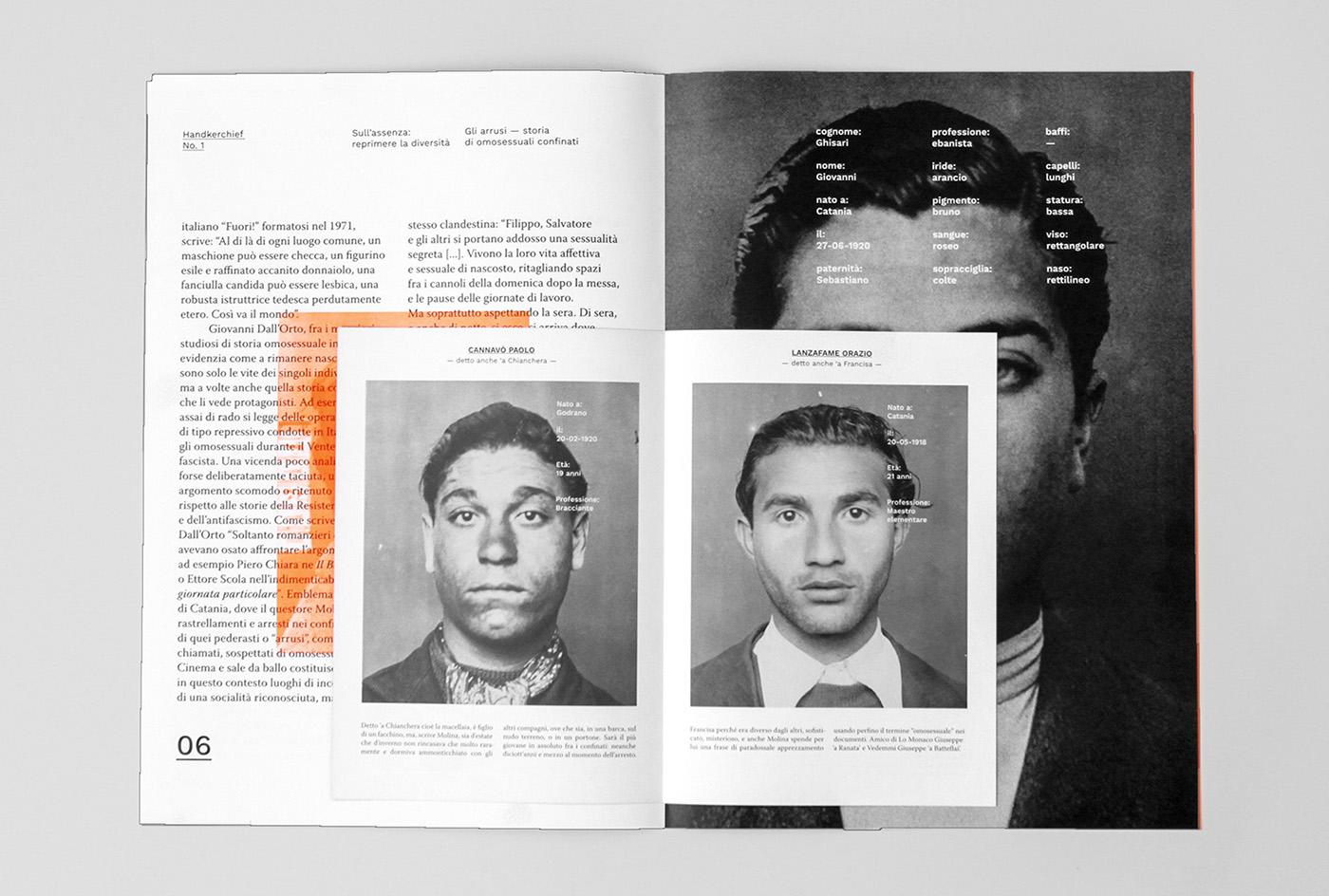 Handkerchief magazine Magazine design LGBT homophobia transphobia social