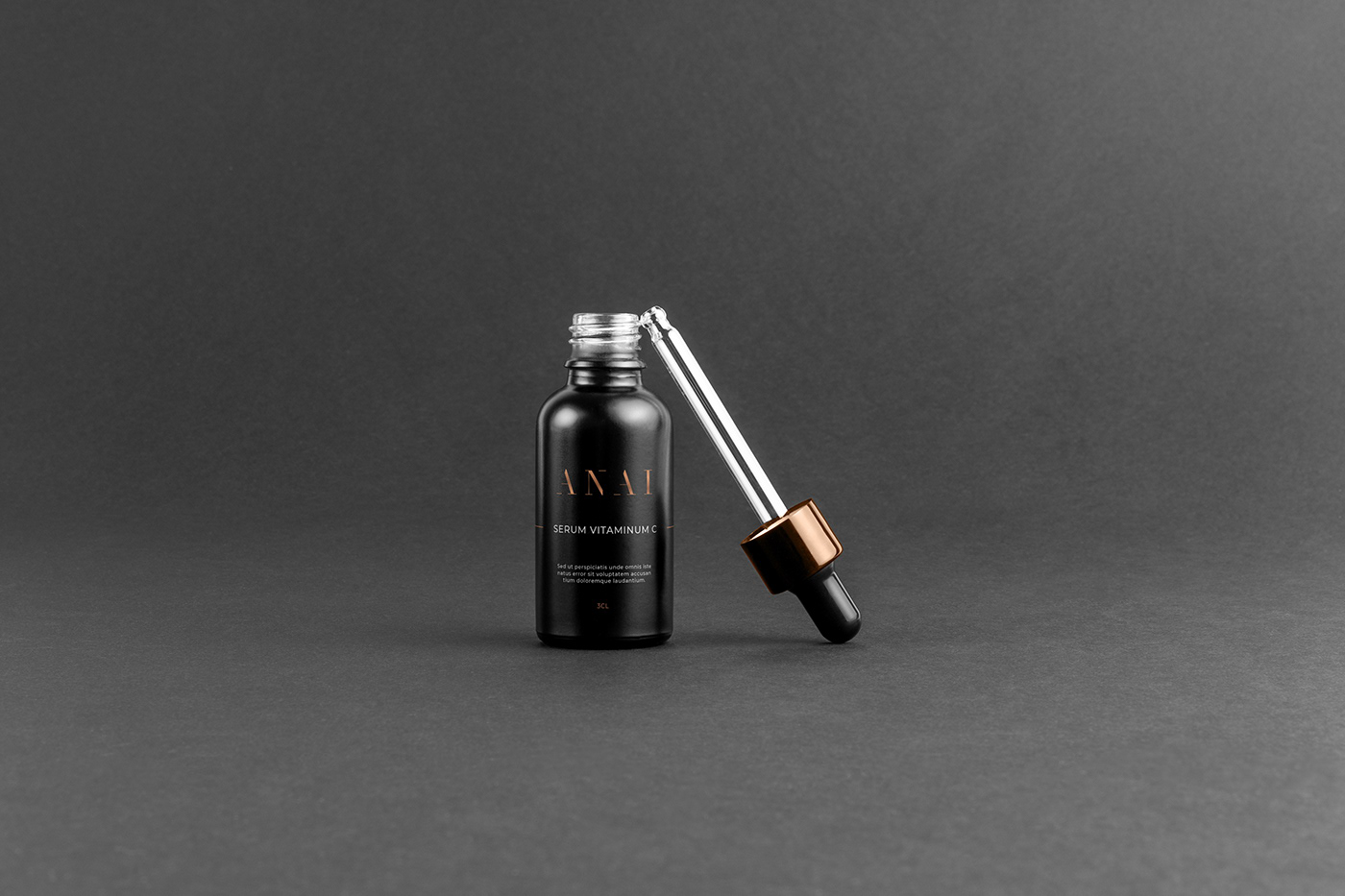 branding  cometic gold logo luxury minimalistic modern new rich
