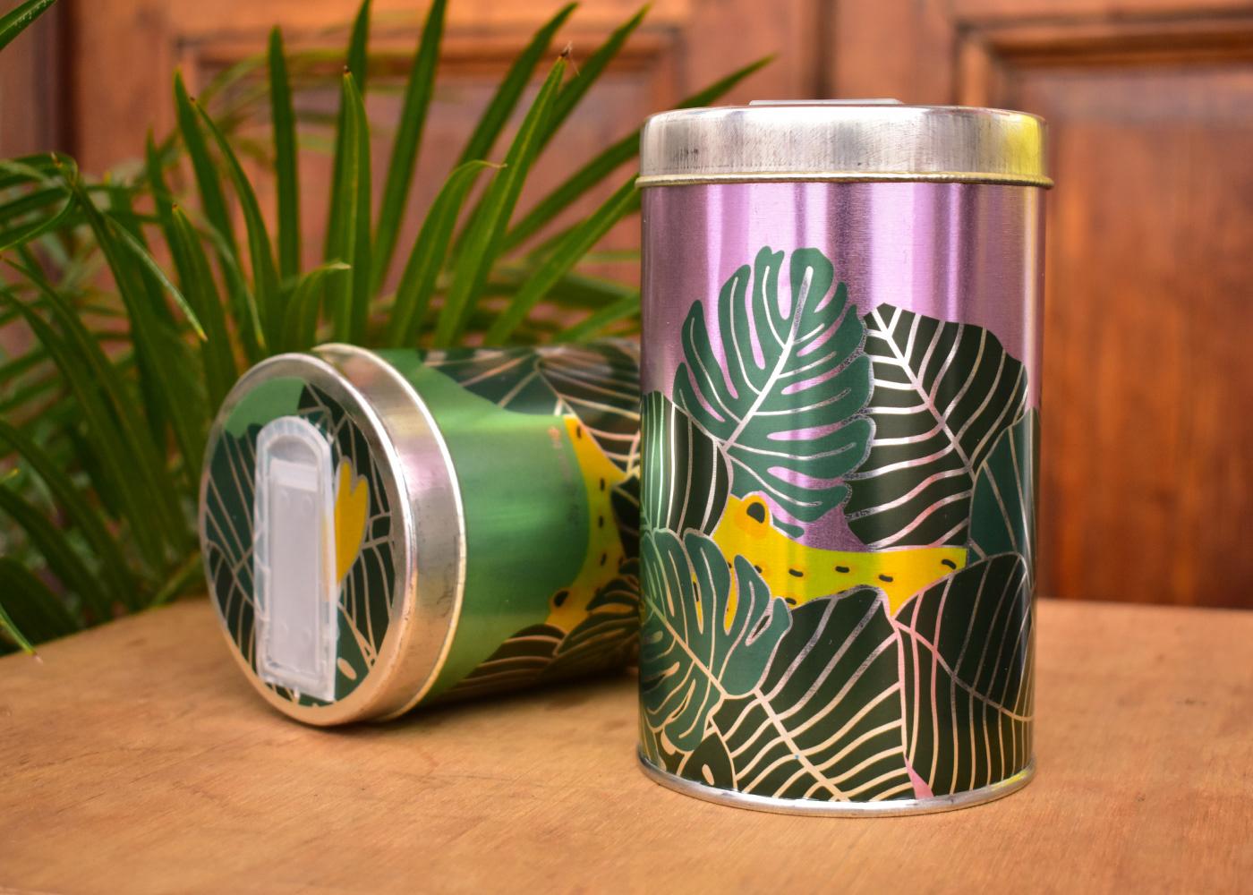 Image may contain: table, soft drink and mug