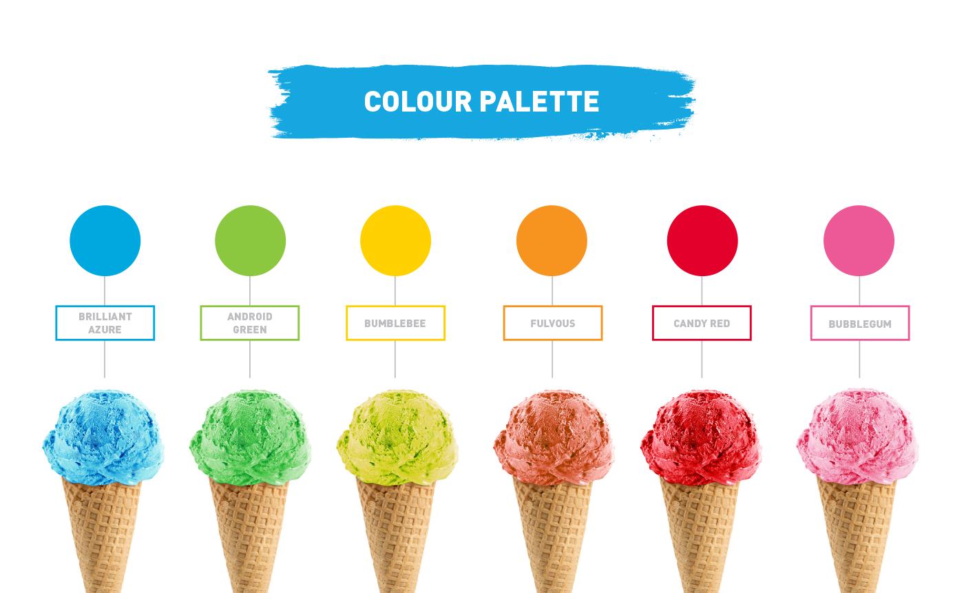 branding  modern summer graphic design  Photography  typography   digital media design trend