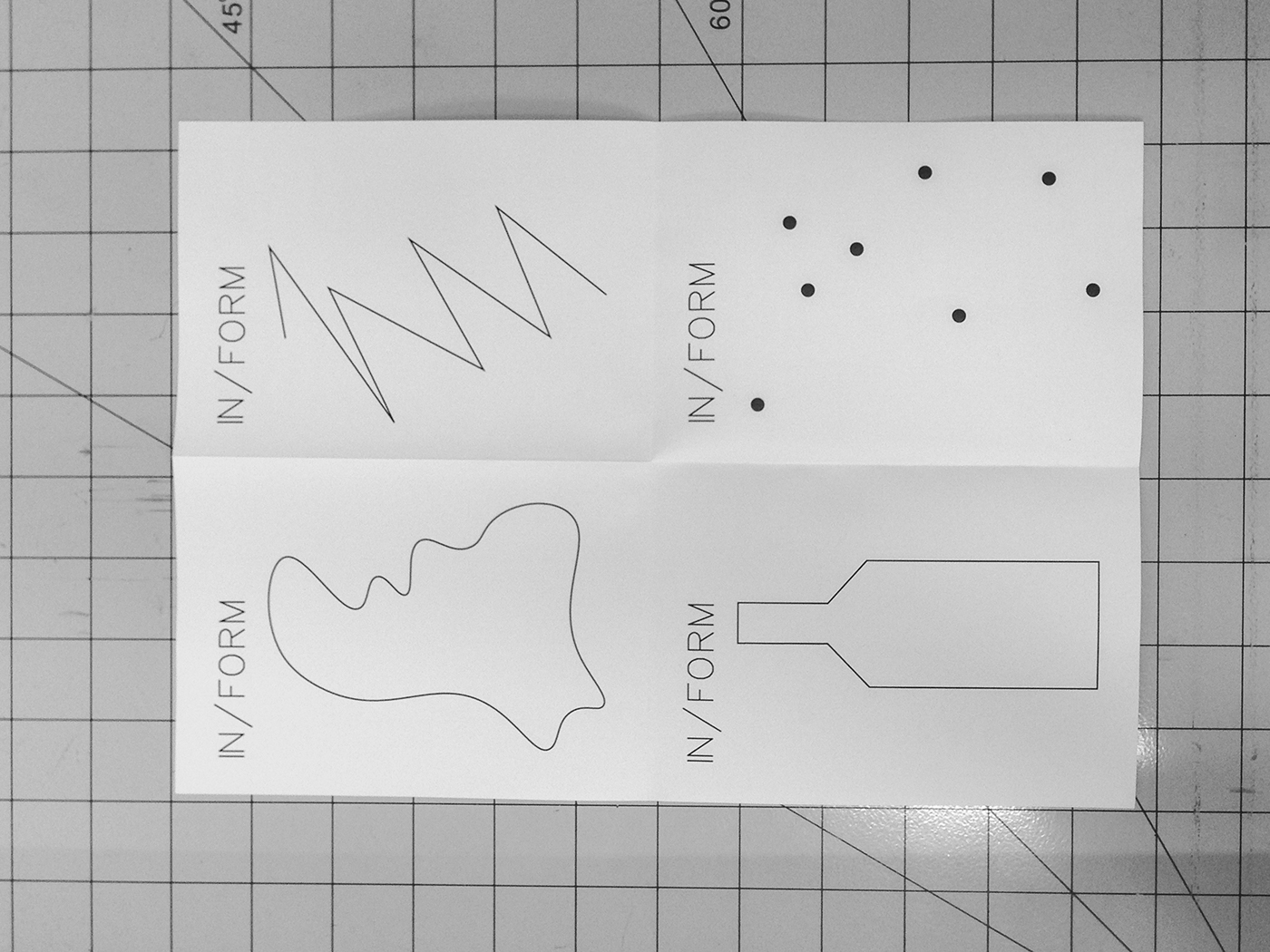 drawbot graphic design Form inform poster interactive brand Event Weekly pencil