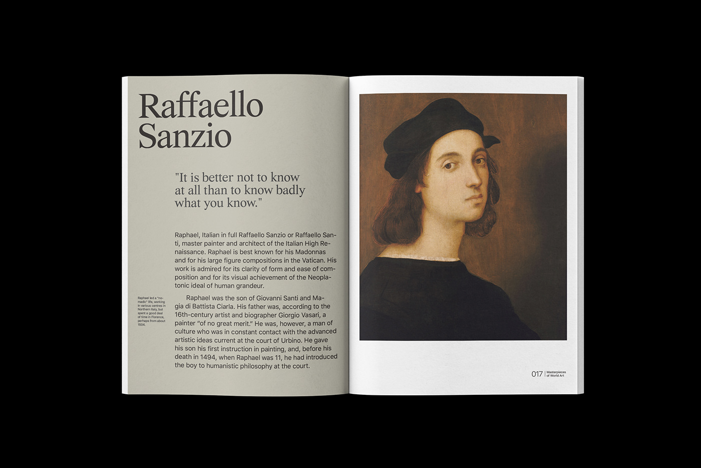 art book design journal typography