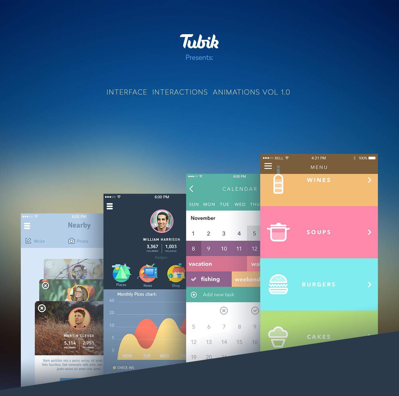 Tubik Studio Behance