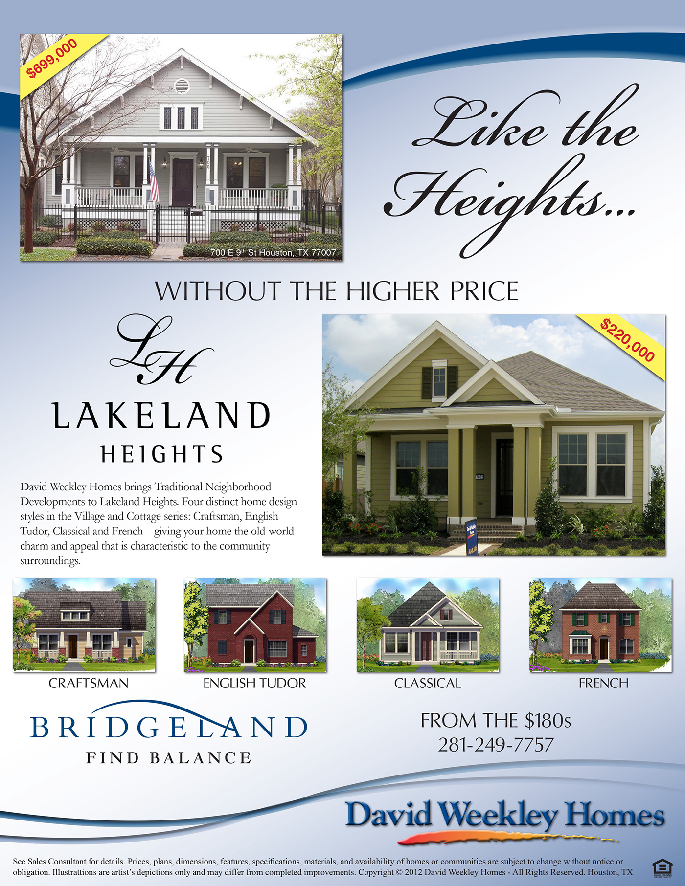 Sales flyer - Lakeland Heights on Behance