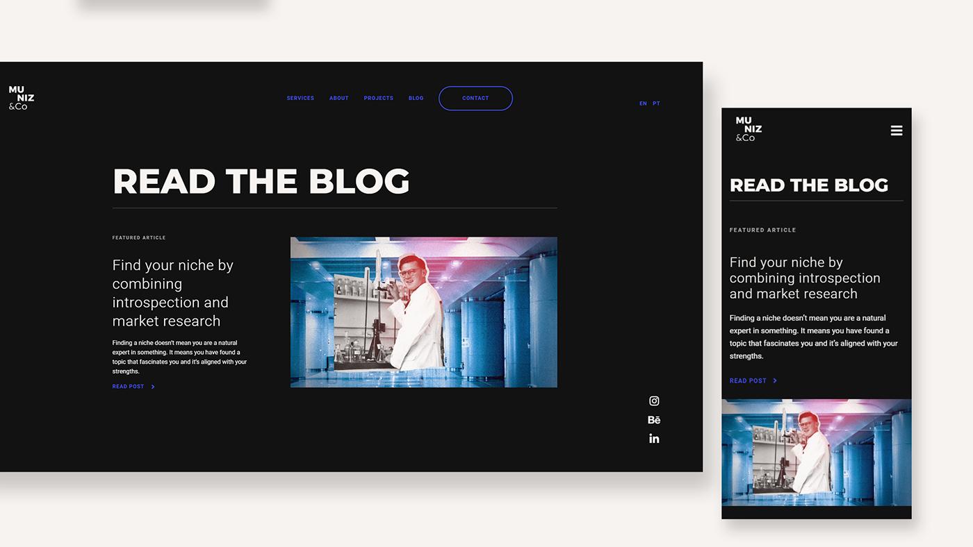 collage Layout Personal Brand personal branding portfolio UI user interface Webflow personal website