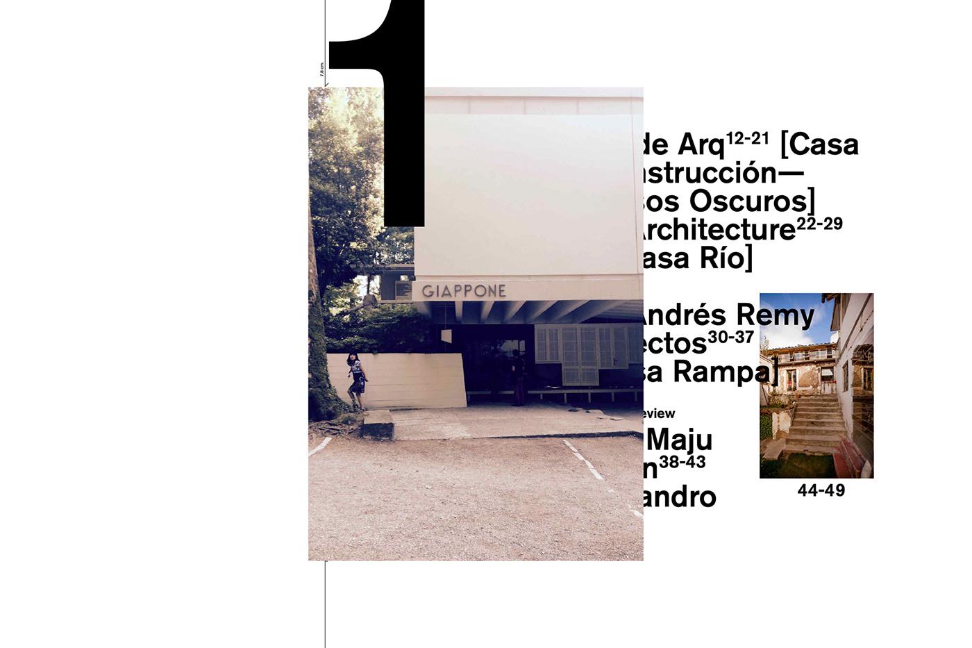 architecture black conceptual craft experimental magazine paper print yellow
