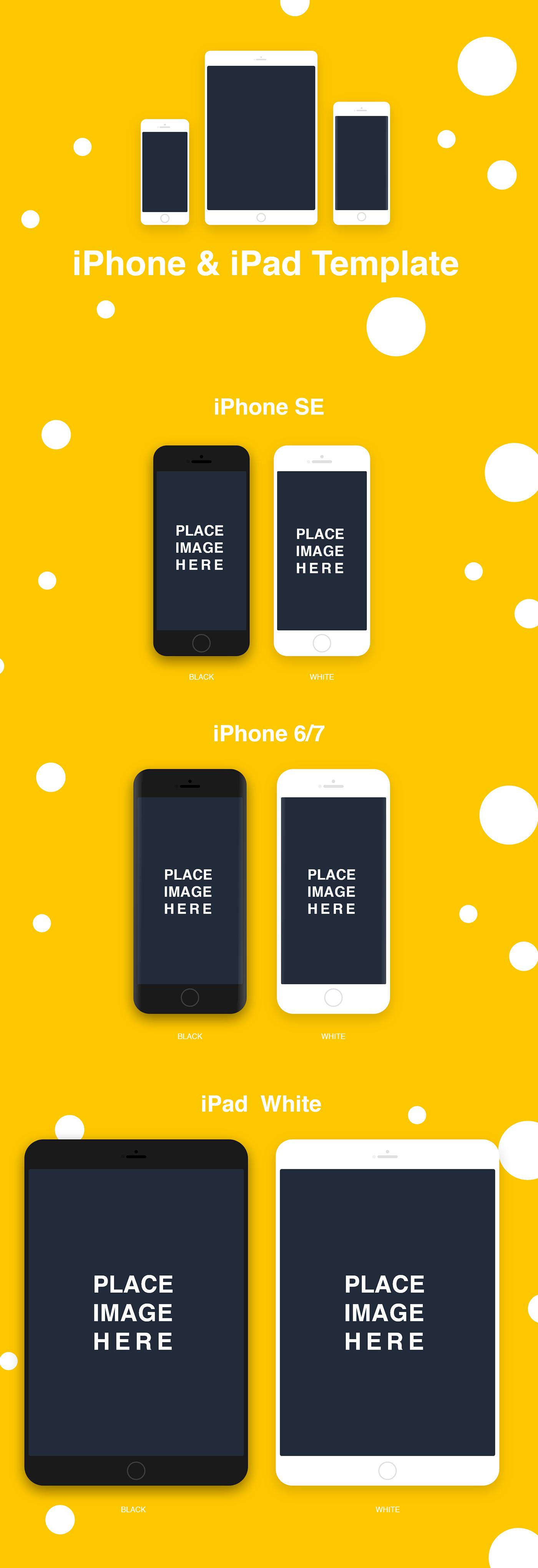 apple free free download iPhone & iPad template