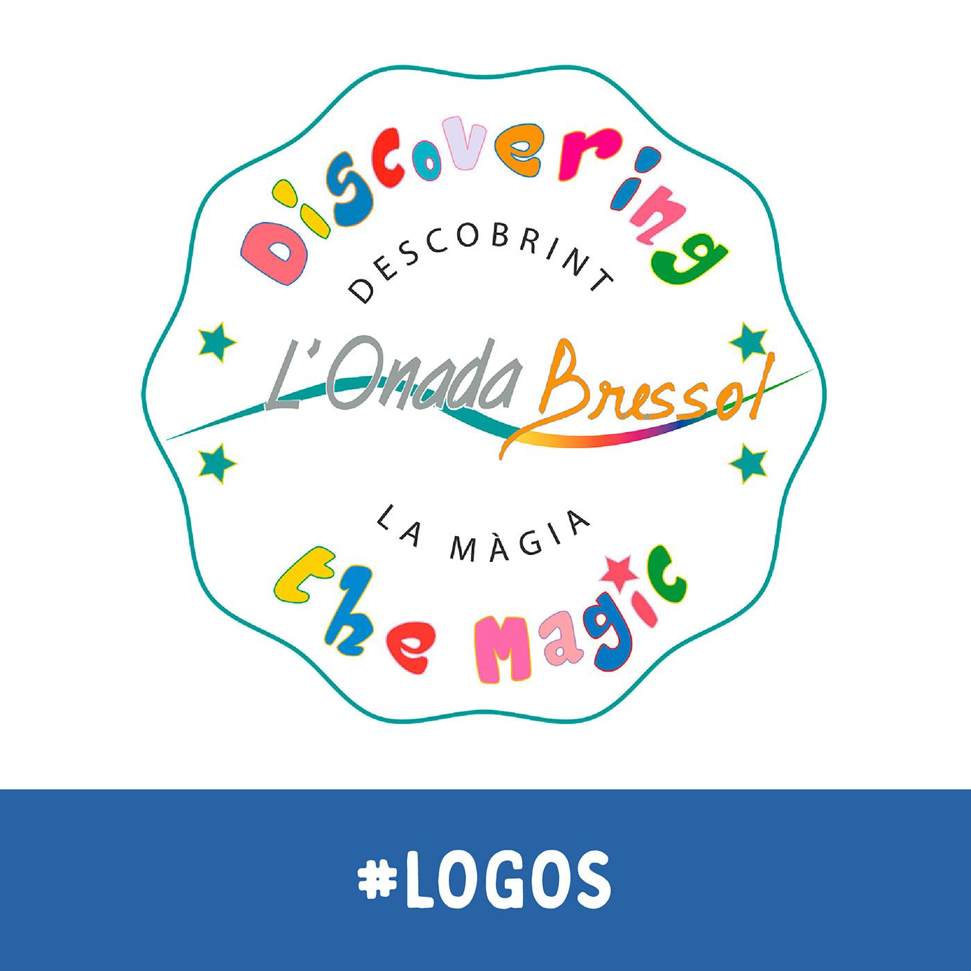 """Emblema para guardería inspirado en """"A Kind of Magic"""". de Queen. L'Onada. Bressol"""