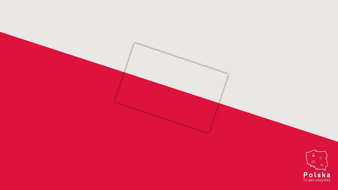 poland polska branding  National Branding logo