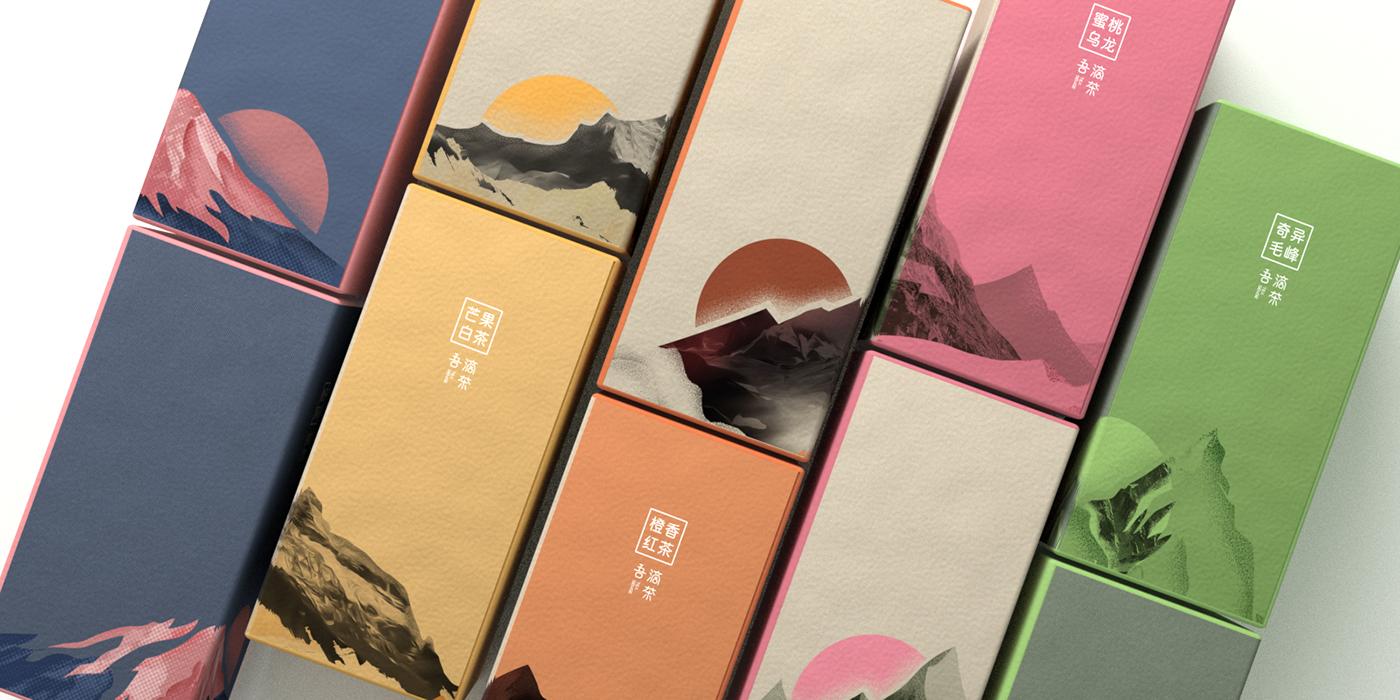 精美的15款茶葉包裝設計欣賞