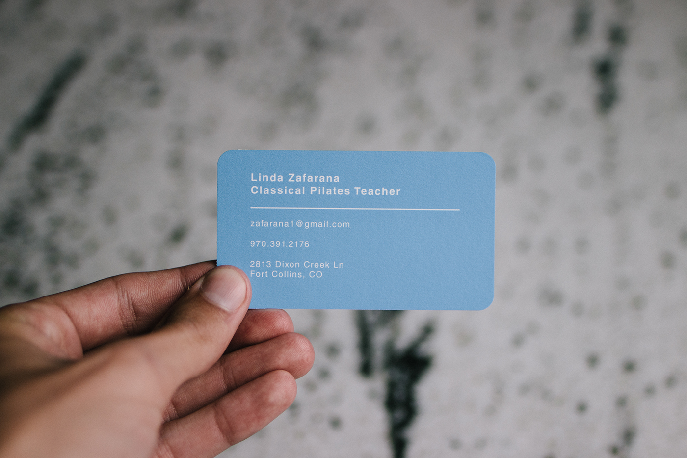 Studio z business cards on behance i created a logo and business card design for a local pilates studio the client wanted a clean fresh design they provided insightful ideas regarding the colourmoves