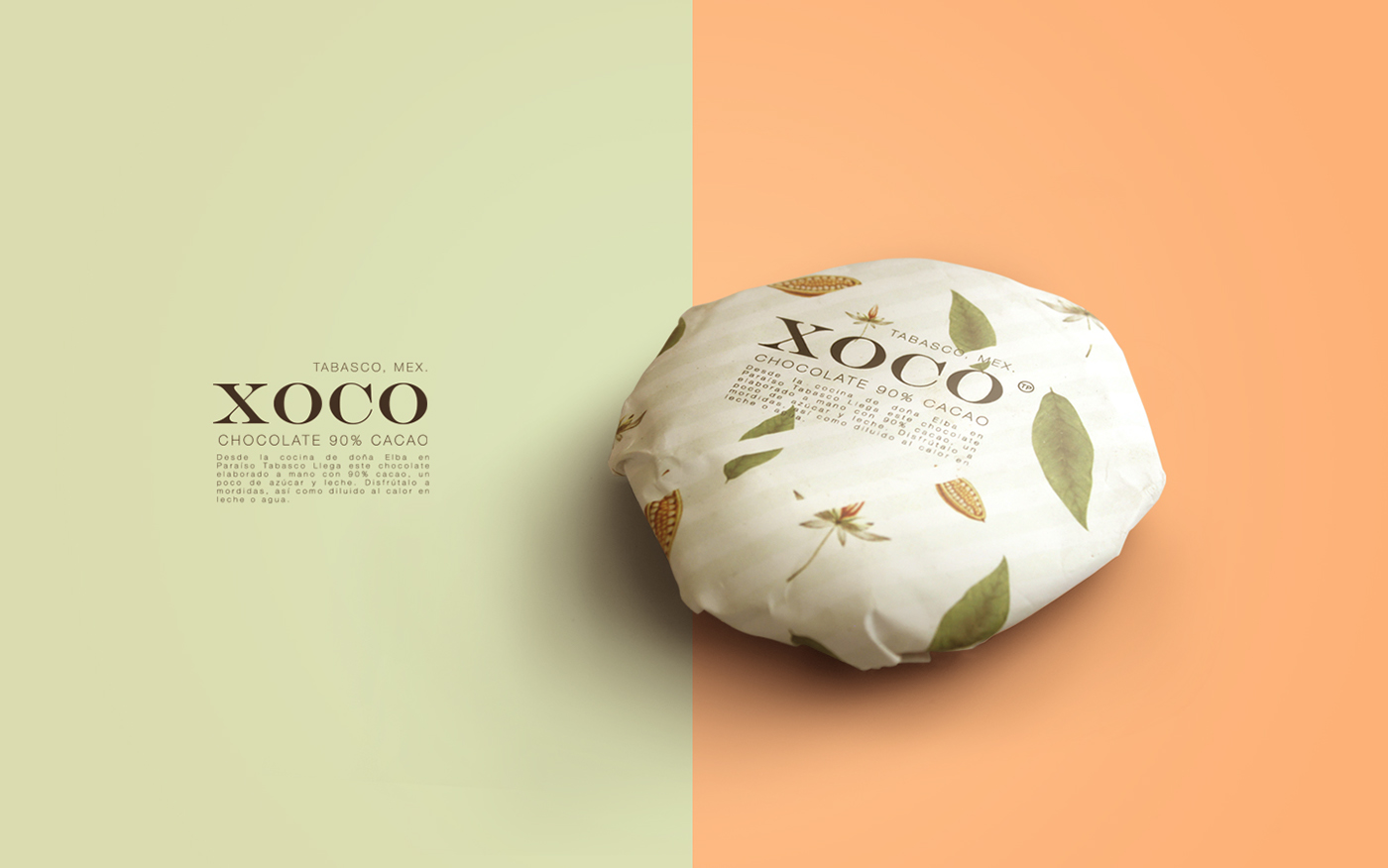 XOCO ––– mexican craft chocolate on Behance