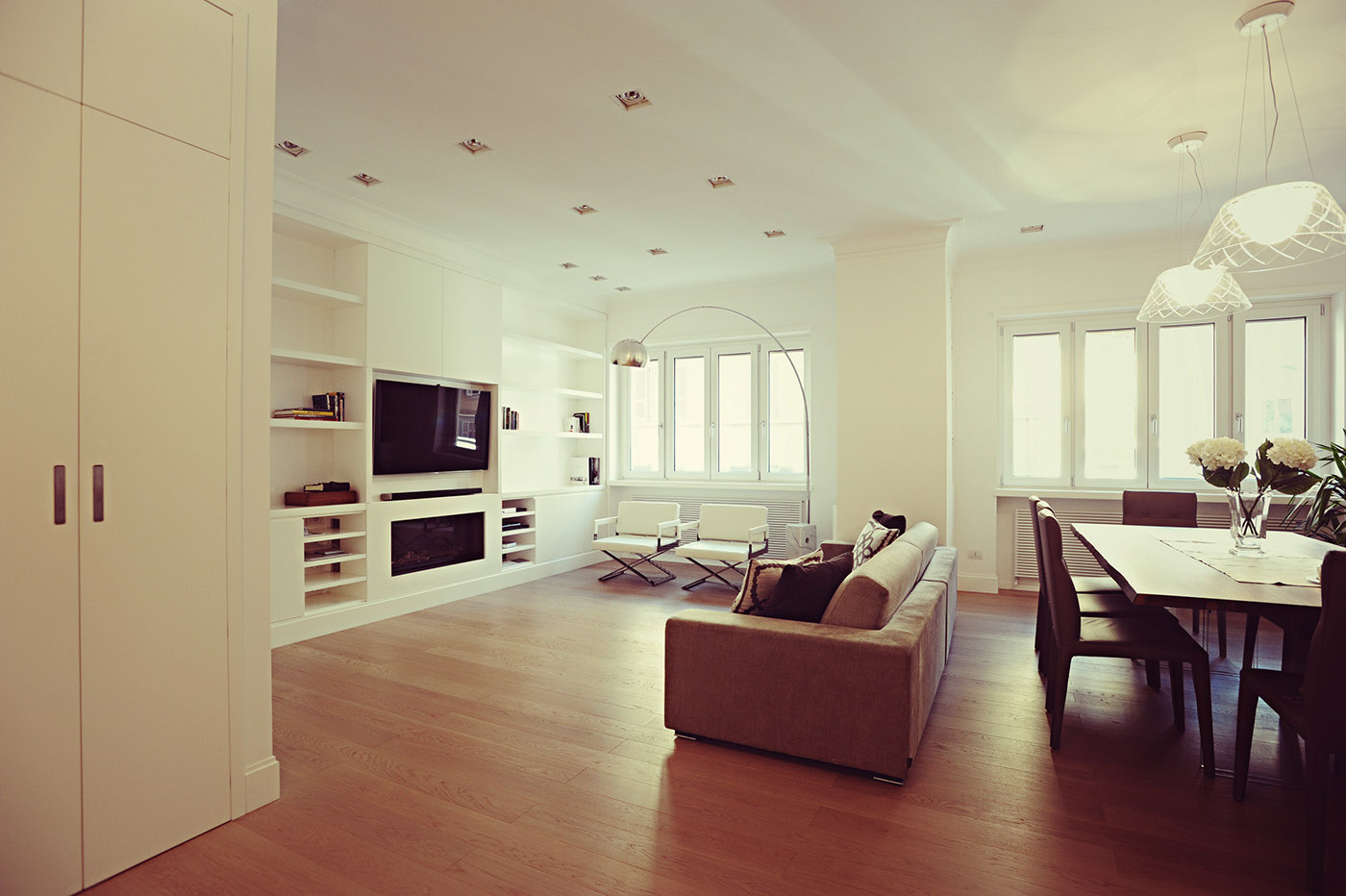 Interior design appartament in rome on behance for Roman interior designs