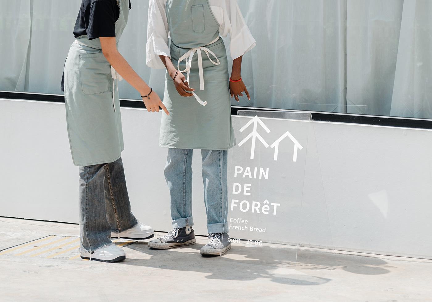 bakery bakery design  brand branding  cafe Cafe design identity logo modern motion
