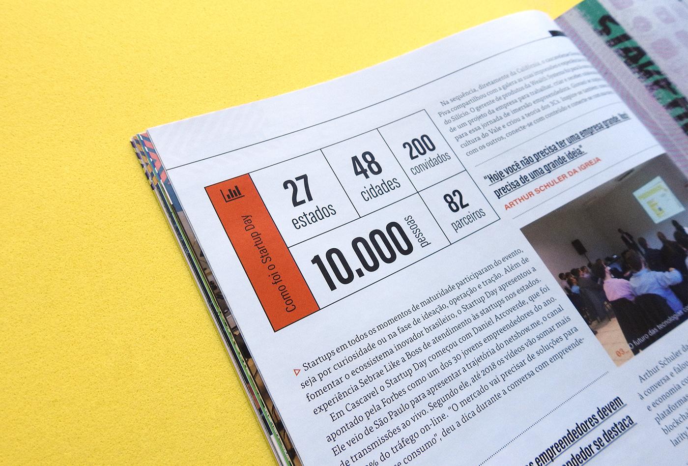 magazine Startup design editorial Brasil vale do silício Silicon Valley Parana lançadora cascavel