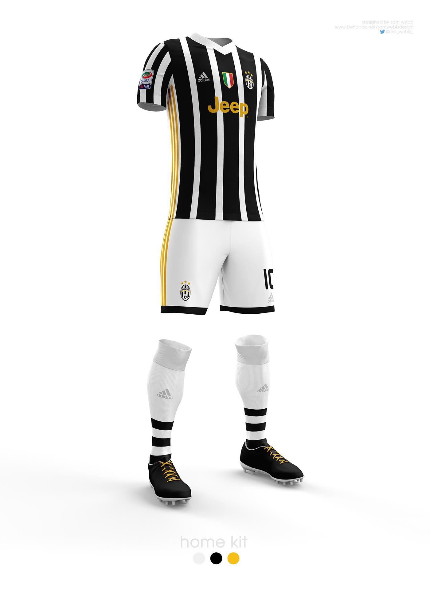 info for fe24a ea7e6 Juventus FC Kit Designs 16/17 on Behance