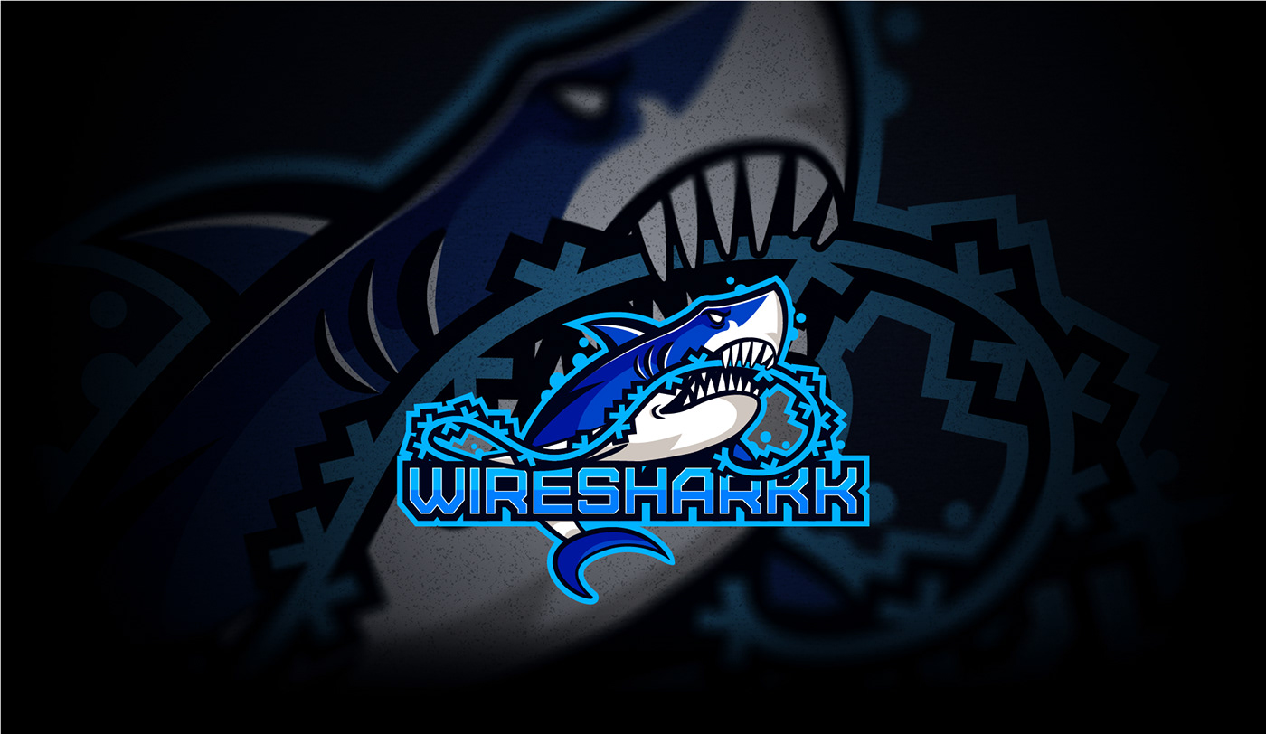 shark logo for esports gaming channer