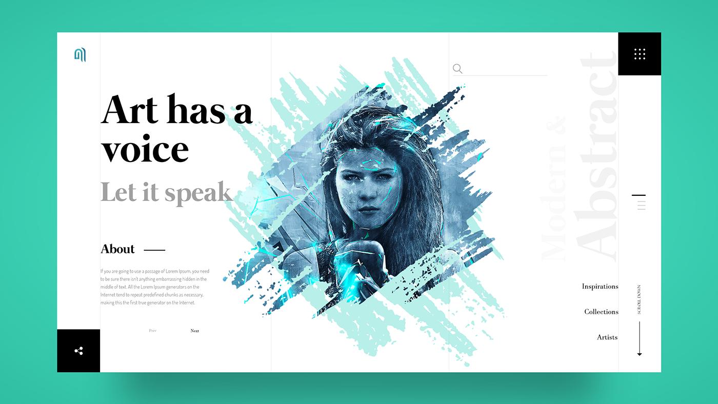 細緻的19款網頁設計欣賞