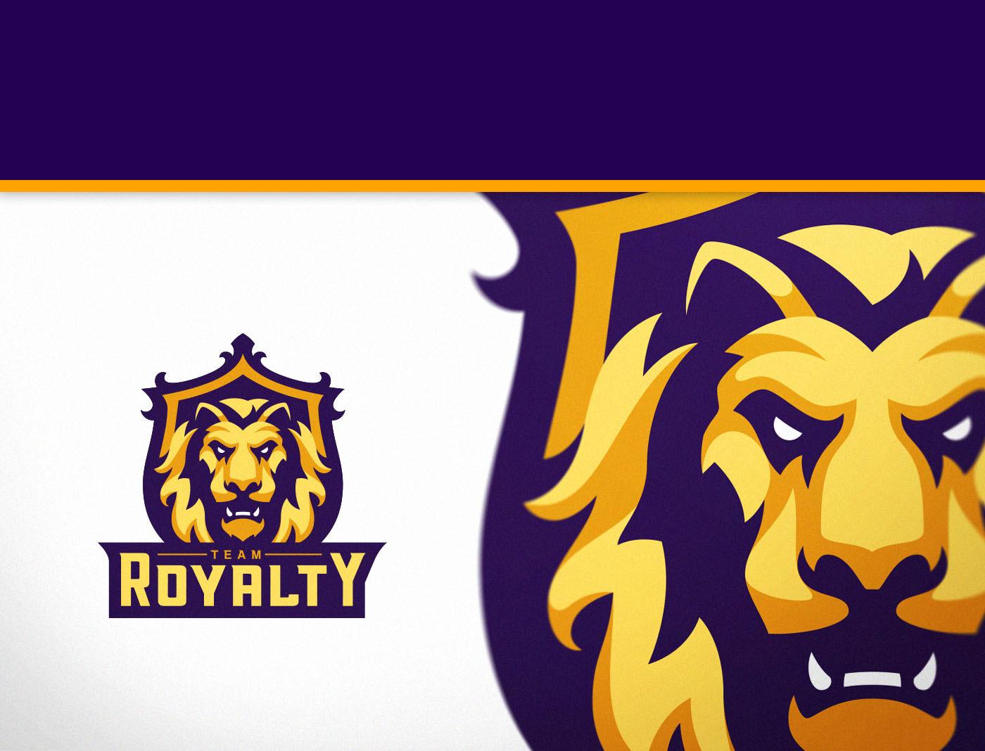 Yellow lion logo - photo#51