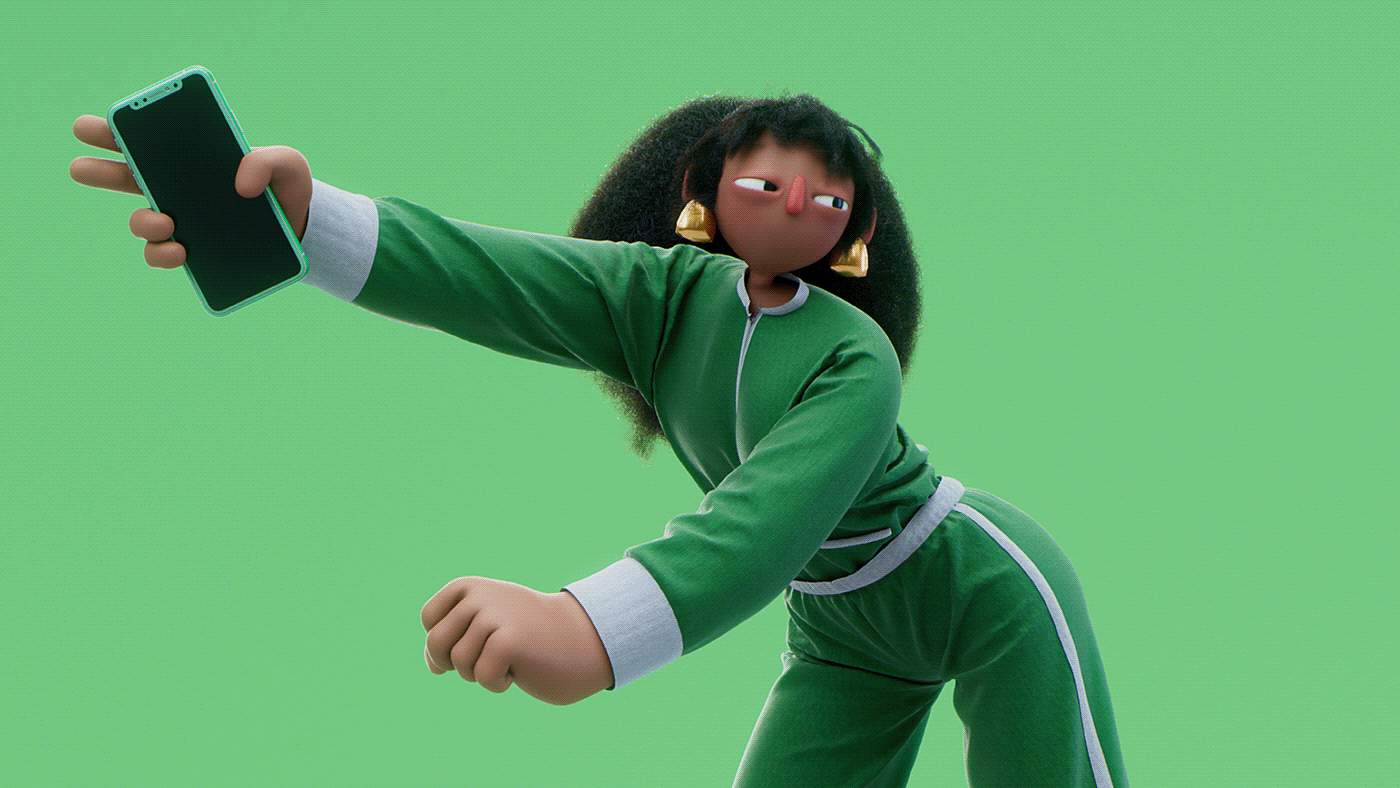 3D character animation