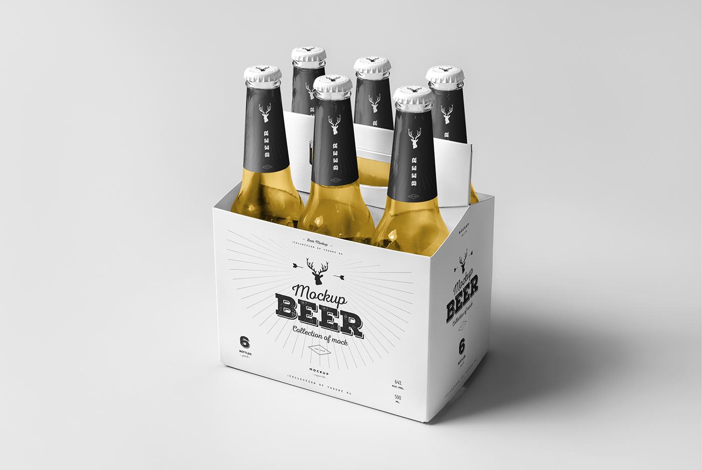 Beer Mock Up 5 On Behance