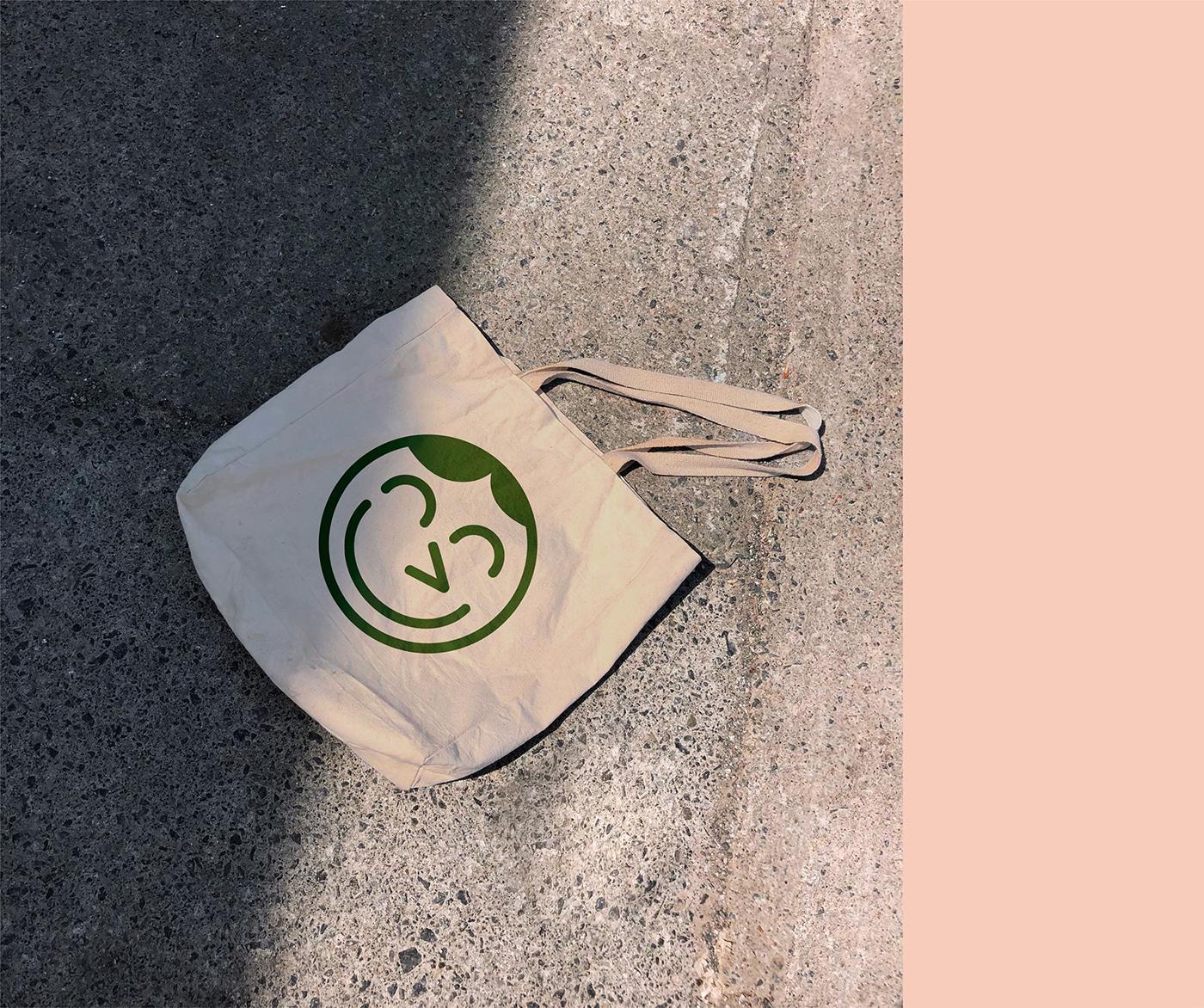 brand Food  hemp logo identity bonvivant