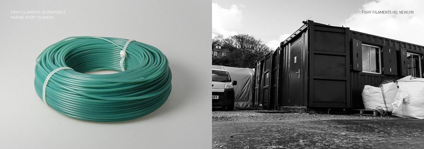 Creativity Fashion  finisterre fishy filaments marine nylon product design  recycling Sustainable