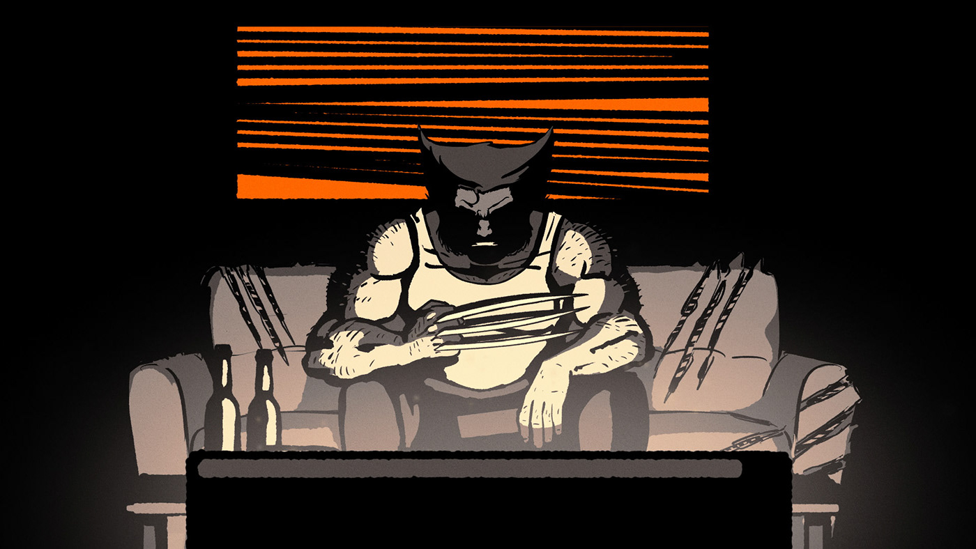 alone COVID19 dccomics home lockdown marvel PopCulture stayhome superheroes Videoclip