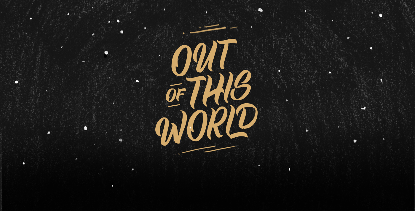 Poster out of this world on behance for Out of this world design