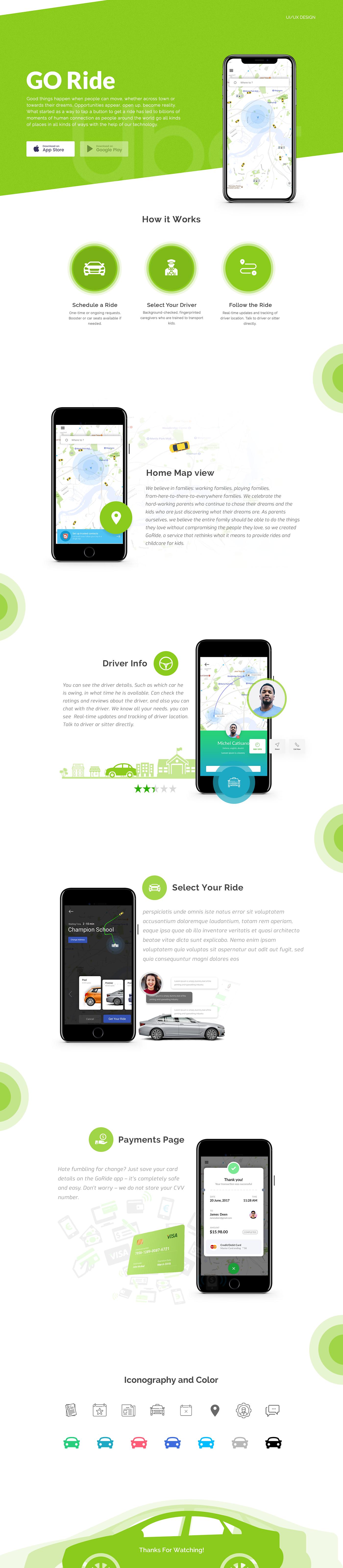 UI/UX user experience user interface graphics design Web Design  mobile design Booking Application ride booking app transportation booking app