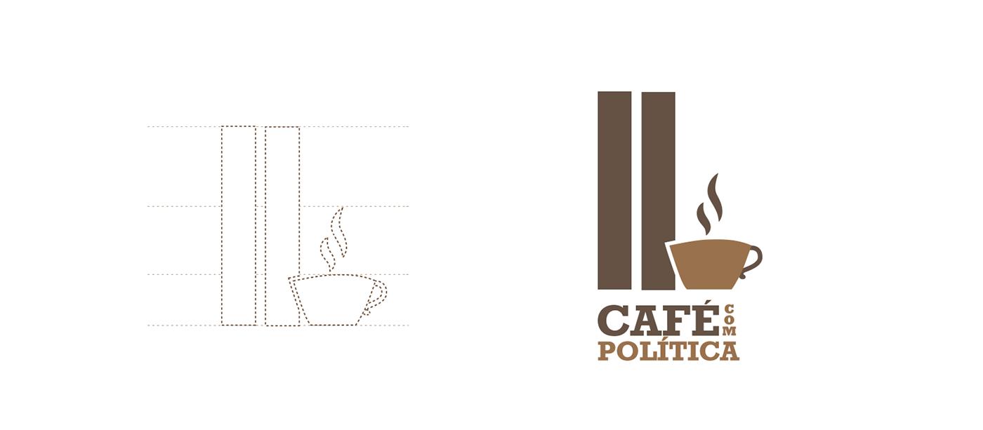 café com politica bsb brasilia oscarniemeyer Politica branding