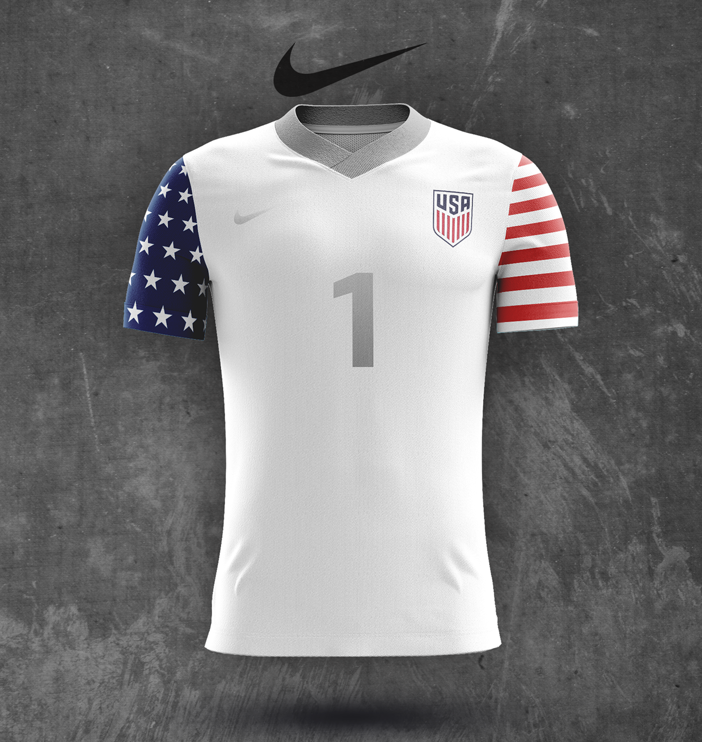 design jersey soccer nike concept us men s national team