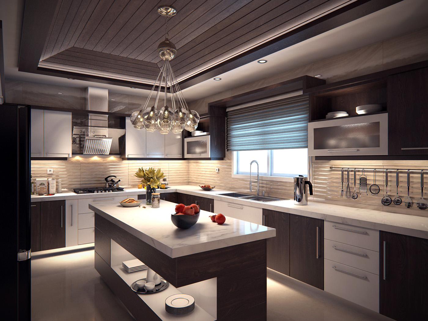 Modern Kitchen on Behance