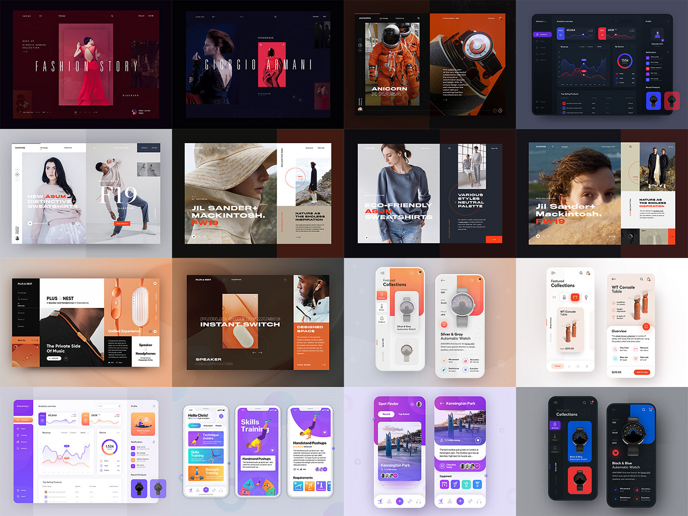 ux UI uxdesign uidesign Webdesign dribbble digitaldesign bestof2019