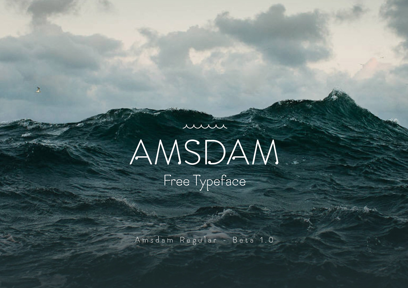 Amsdam Regular Font Download