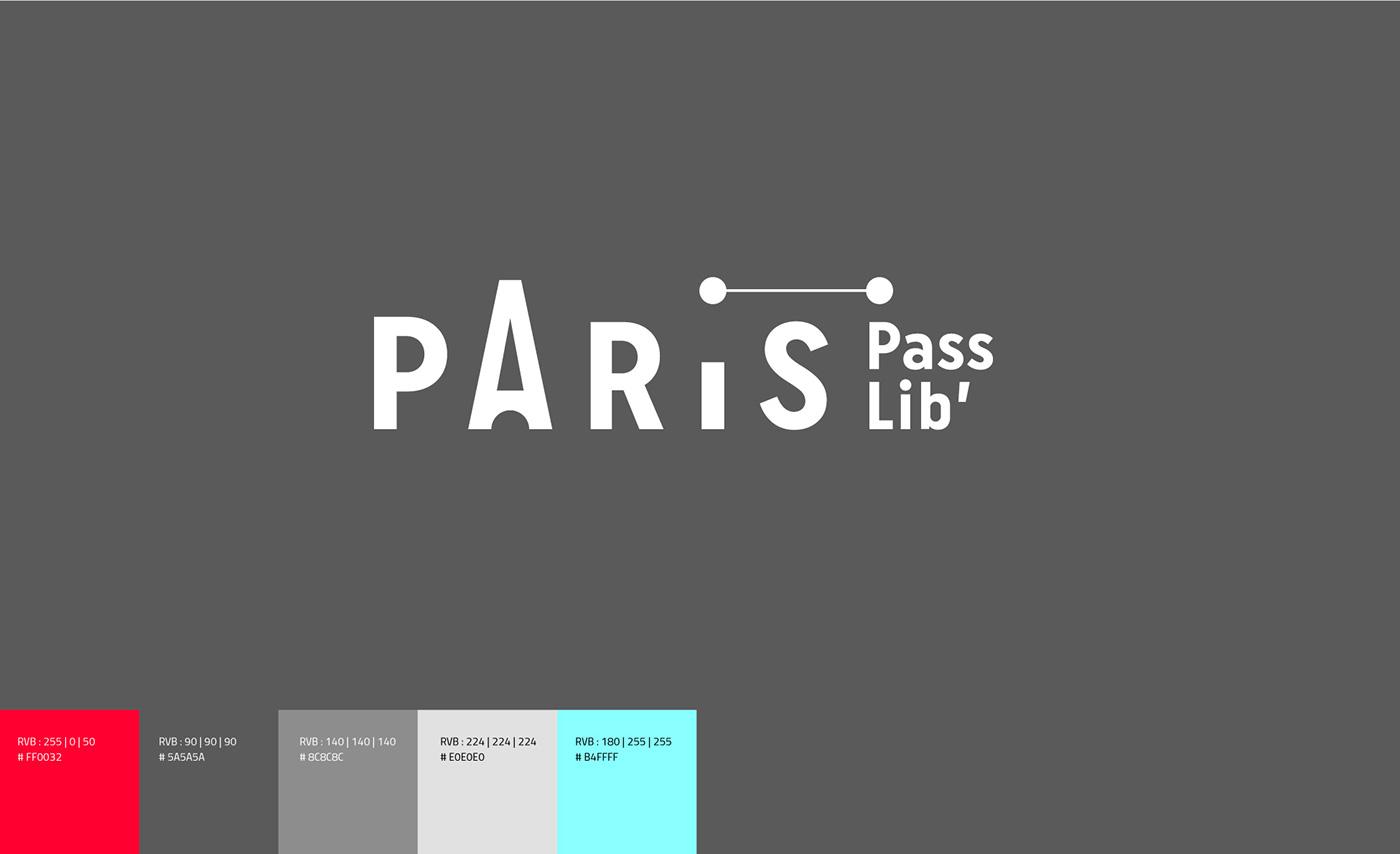 tourism Tourisme Paris City branding minimal Logotype flat design colorful modernist agca