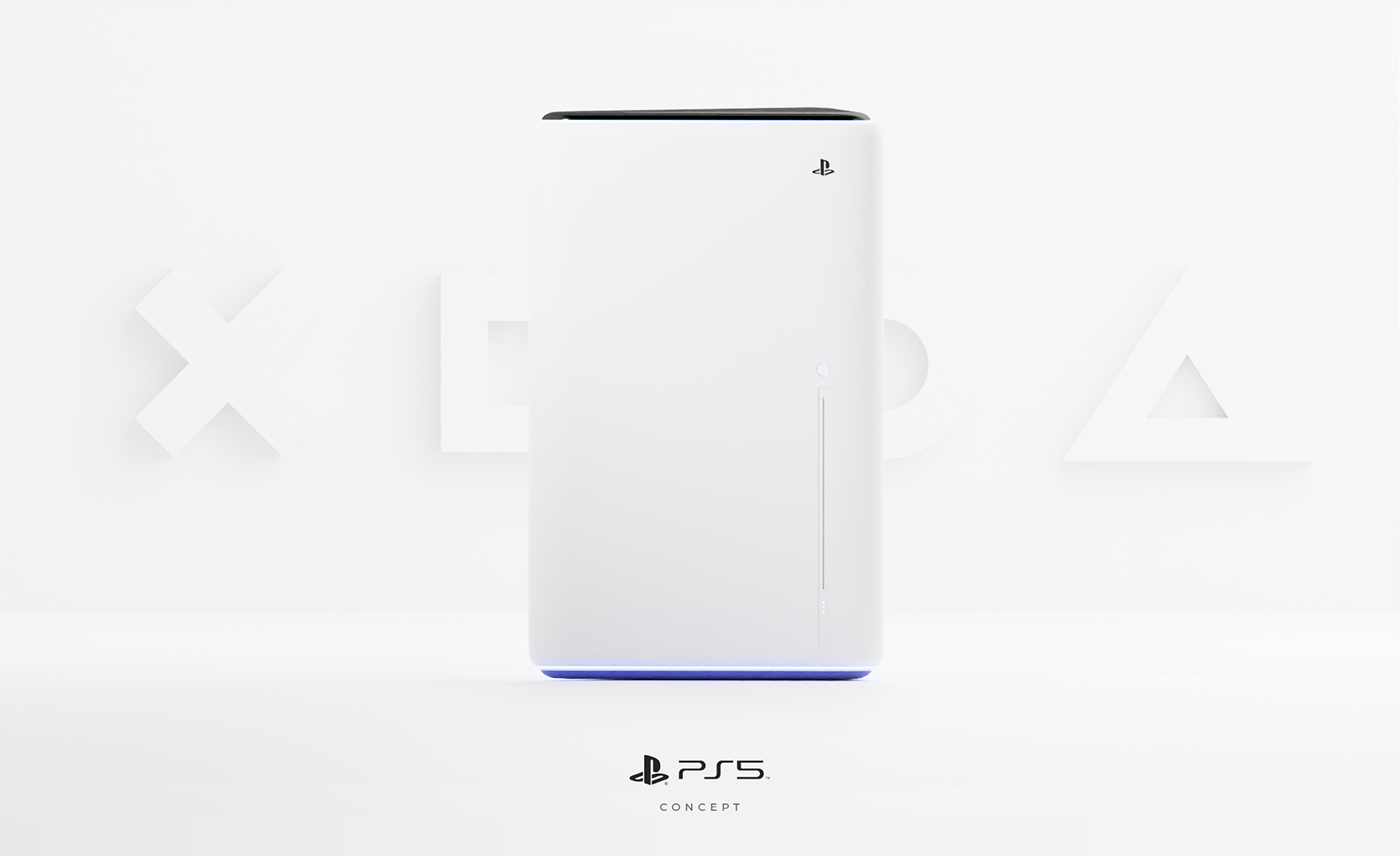 concept console Games Gaming playstation product animation product design  ps5 xbox Ps4
