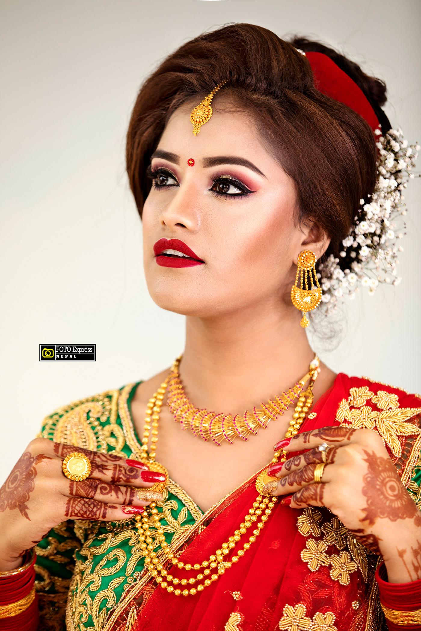 bride nepali wedding ranjitphotography