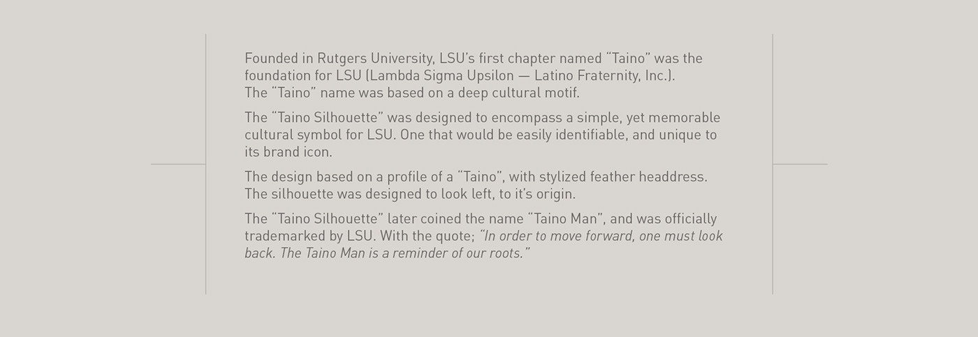 LSU Lambda Sigma Upsilon latino Fraternity logo Taino iphone case iPad Laptop skin award