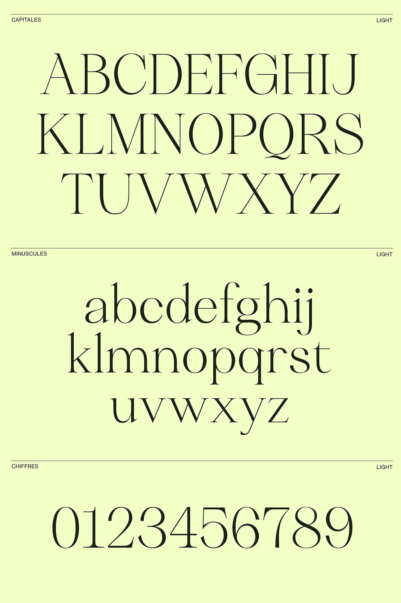 caracteres design dessin font graphic Robofont   serif type typography   UQAM