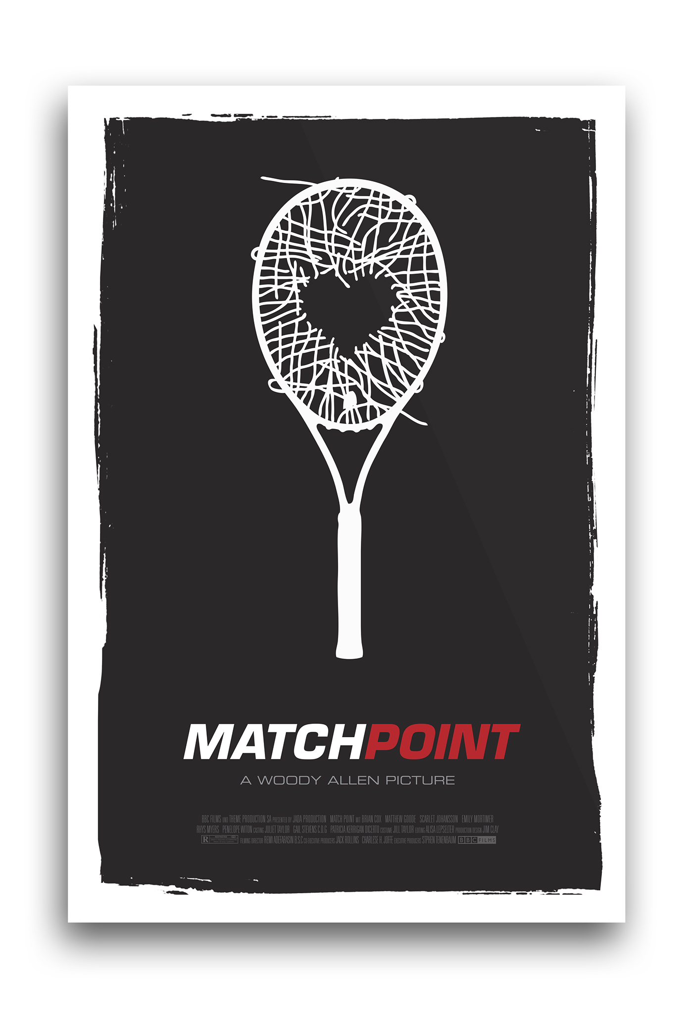Match Point Minimal Movie Poster on Behance