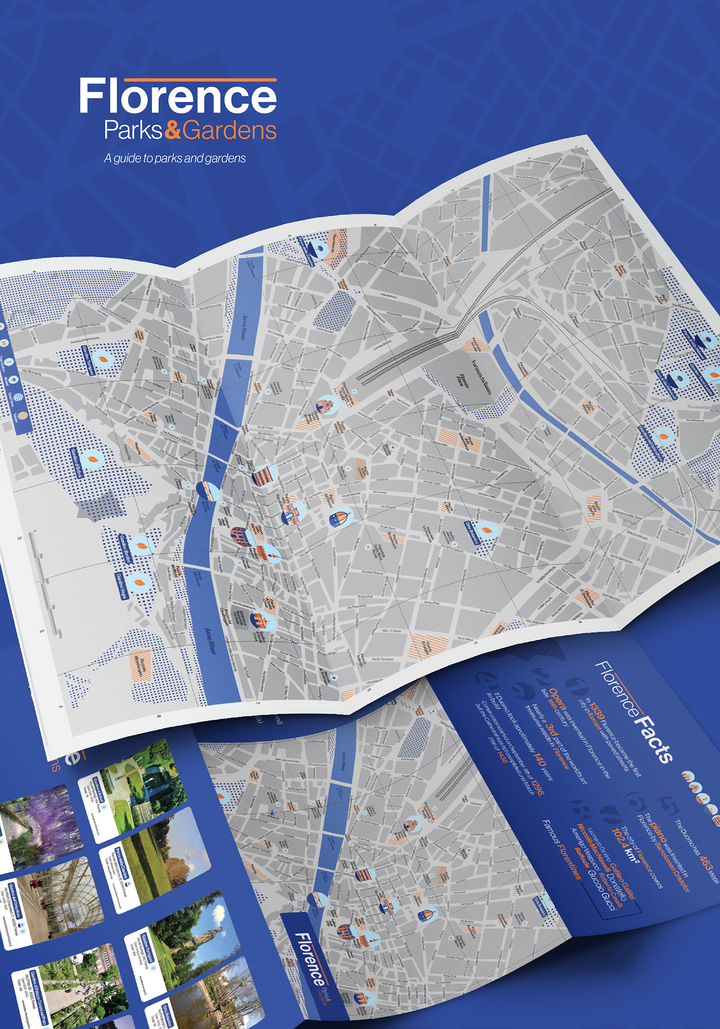 Cartina 1400.Florence Map Mappa Firenze On Behance