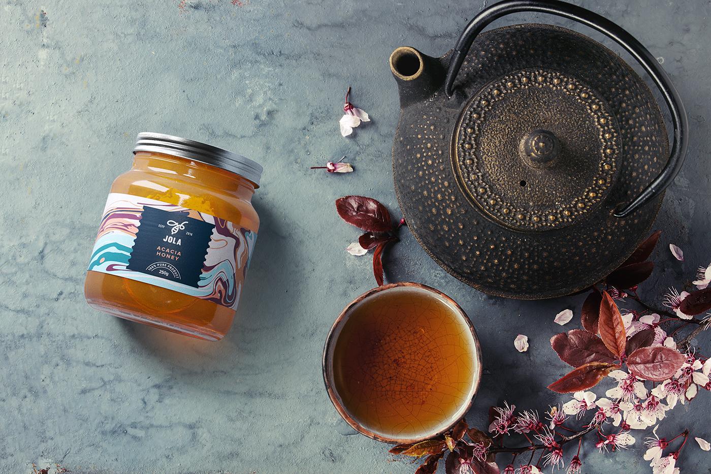 honey mix ukraine bee pattern healthy Food
