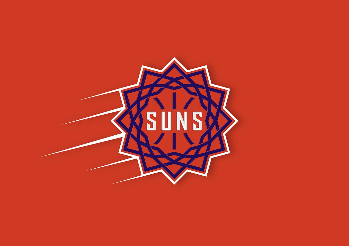 NBA basketball logo sports Phoenix Suns Phoenix suns team Rebrand sport