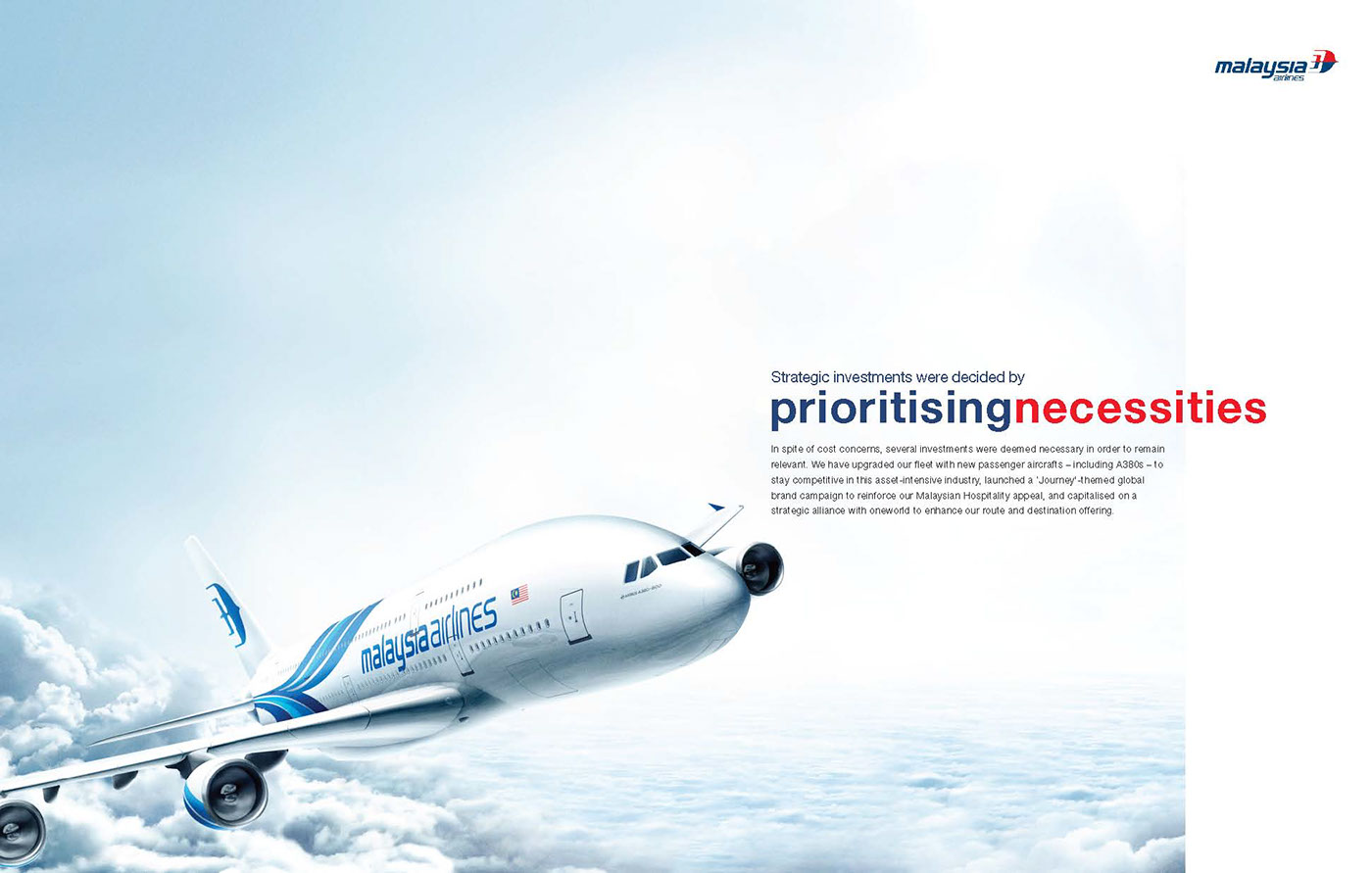 malaysia airlines corporate policy and strategy With a new ceo and an evolving marketing strategy malaysia airlines struggles to salvage its image a year after malaysia's tourism numbers have gone.