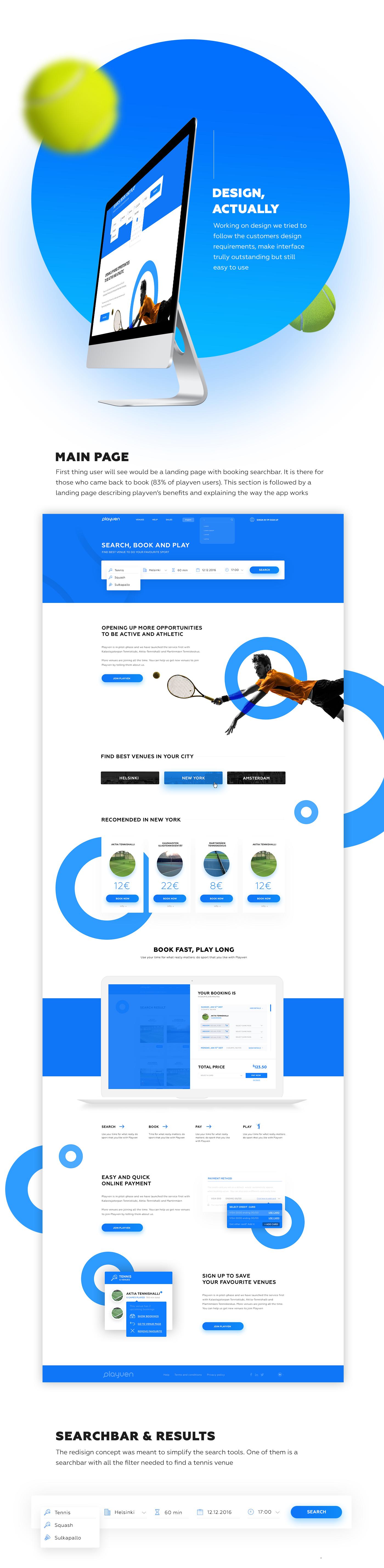 Playven webapp ui ux redesign on behance for Cool dreamweaver templates