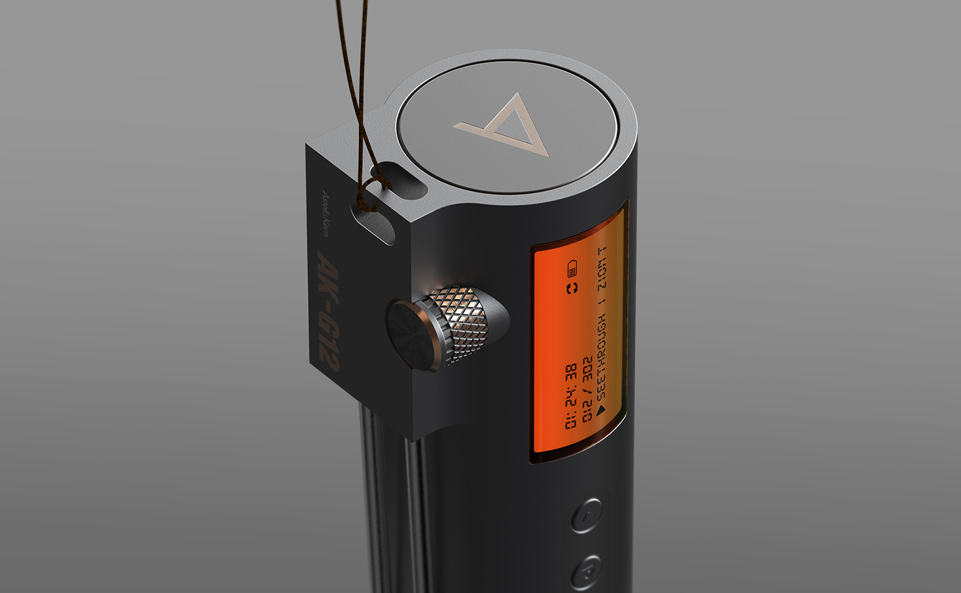 audio system,audio device,Music Player,Astell and Kern,AK G-12,jeongdae kim,Earbuds,in ear