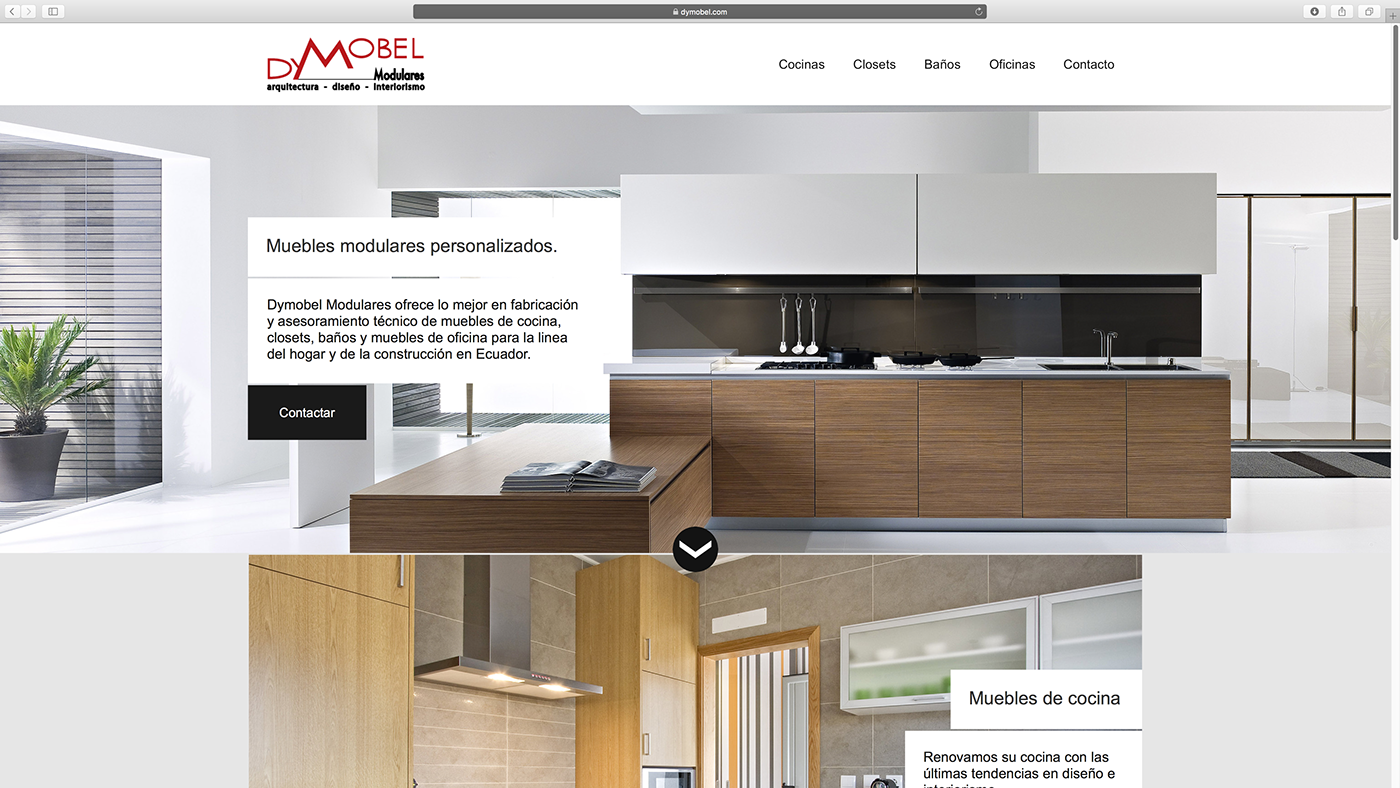 Dymobel Modulares Web Design On Behance # Muebles Ecuador